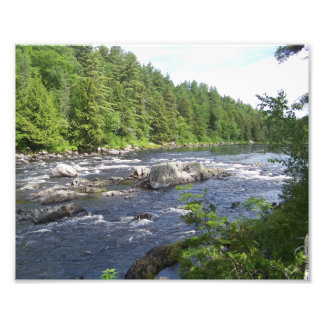 East Branch Penobscot Photo Print