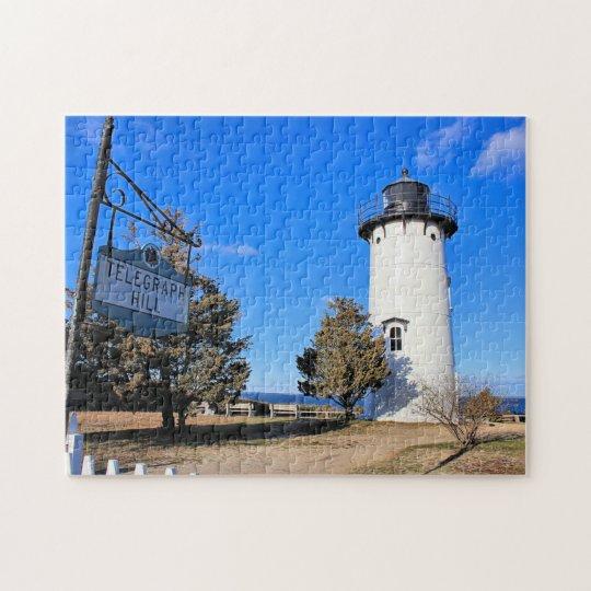 East Chop Lighthouse, Massachusetts Jigsaw Puzzle