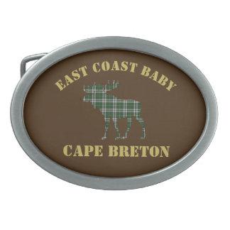 East Coast Baby Cape Breton Tartan belt buckle