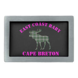 East Coast Baby Cape Breton Tartan belt buckle