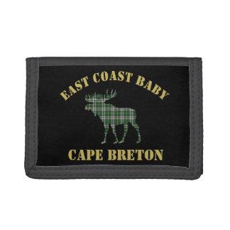 East Coast Baby Cape Breton Tartan wallet moose
