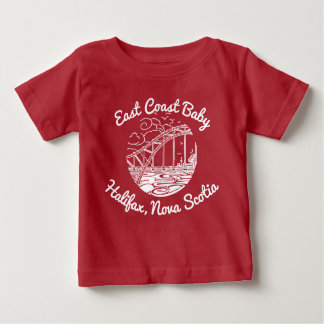East Coast Baby Halifax Nova Scotia Canada Baby T-Shirt
