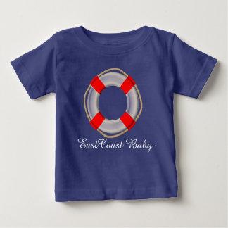 East Coast Baby Life preserver cute shirt
