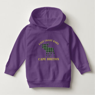 East Coast Baby moose  Cape Breton purple sweater