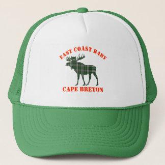 East Coast Baby moose Cape Breton tartan hat