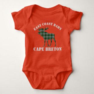 East Coast Baby moose  Cape Breton tartan shirt