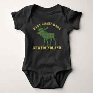 East Coast Baby moose Newfoundland tartan shirt