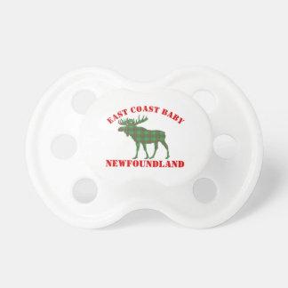 East Coast Baby moose Newfoundland tartan  soother