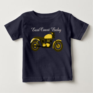 East Coast Baby motorcycle chopper Baby T-Shirt