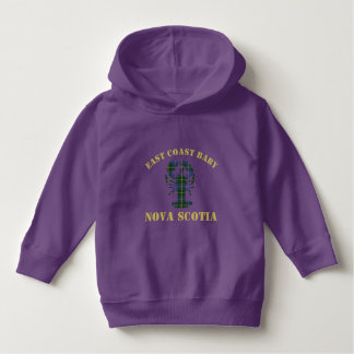 East Coast Baby Nova Scotia Lobster purple sweater