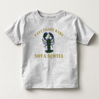 East Coast Baby Nova Scotia Lobster tartan shirt