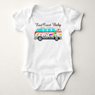 East Coast Baby peace love no more war van T Shirts