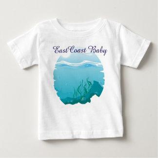 East Coast Baby sea ocean nautical Baby T-Shirt