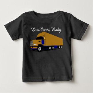 East Coast Baby transport truck eighteen wheeler Baby T-Shirt