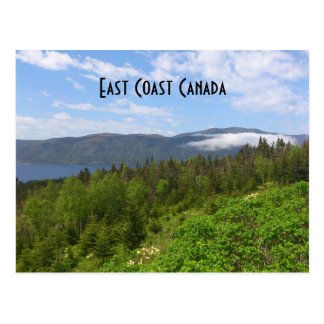 East Coast Canada Postcard