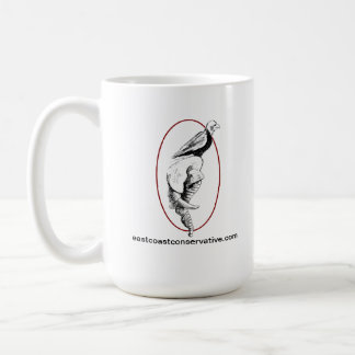 East Coast Conservative Podcast Logo Mug 15oz