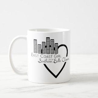 East Coast Girl with Southern Belle Charm Coffee Mug