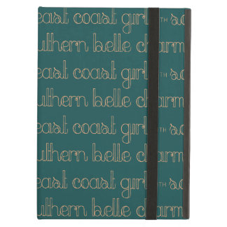 East Coast Girl with Southern Belle Charm Cover For iPad Air
