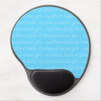 East Coast Girl with Southern Belle Charm Gel Mouse Pad