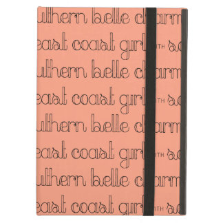 East Coast Girl with Southern Belle Charm iPad Air Case