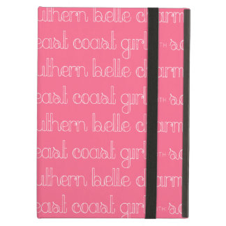 East Coast Girl with Southern Belle Charm iPad Air Cover