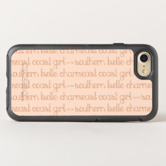 East Coast Girl with Southern Belle Charm OtterBox Symmetry iPhone 8/7 Case