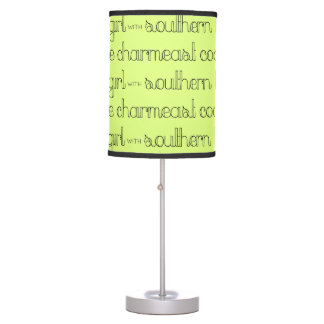 East Coast Girl with Southern Belle Charm Table Lamp
