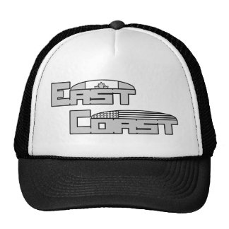 East Coast - Half Moon Flags Trucker Hat