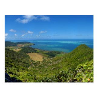 East Coast Island of Mauritius Africa Postcard