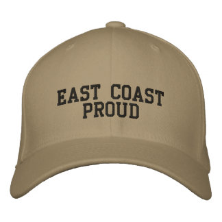 East Coast Proud Embroidered Baseball Cap