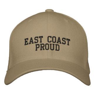 East Coast Proud Embroidered Baseball Cap