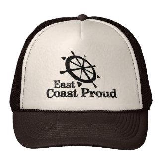 East Coast Proud - Nautical Helm Truckers Hat