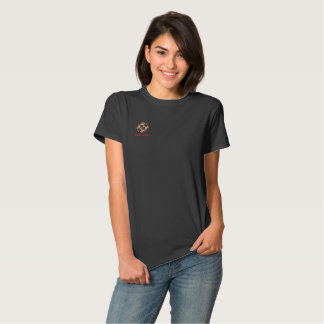 East Face Embroidered Basic T-shirts For Women