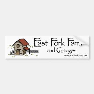 East Fork Farm Bumper Sticker