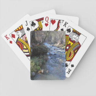 East Fork, Hayfork Creek... Playing Cards