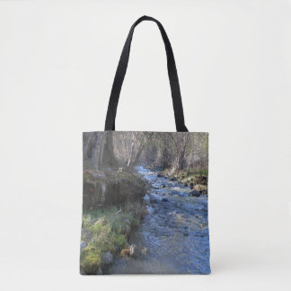 East Fork, Hayfork Creek... Tote Bag