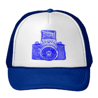 East German Camera - Blue Trucker Hat