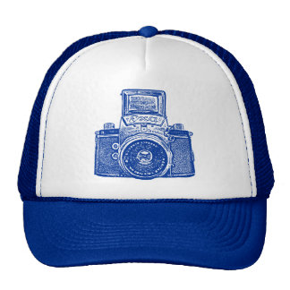 East German Camera - Dark Blue Trucker Hat