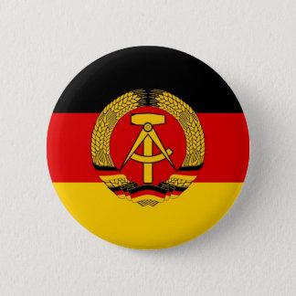 East German Flag 2 Inch Round Button