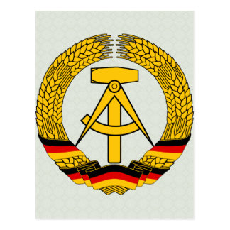 East Germany Coat of Arms detail Post Cards