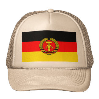 East Germany, Flag Trucker Hat