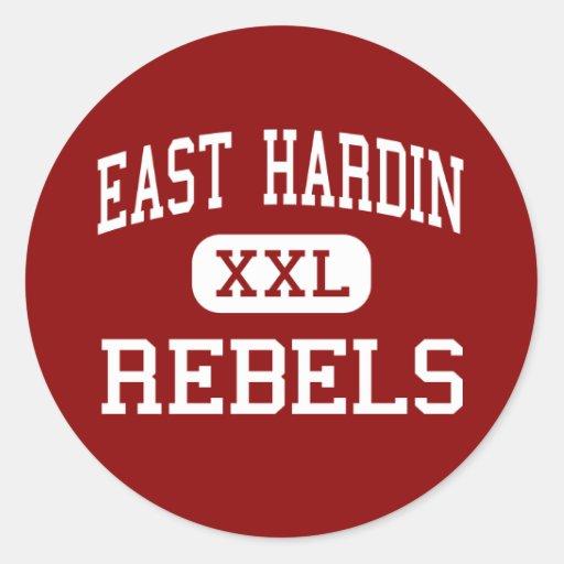 East Hardin - Rebels - Middle - Glendale Kentucky Sticker
