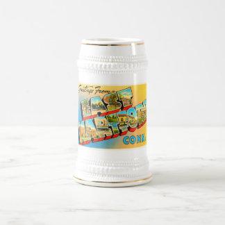 East Hartford Connecticut CT Old Travel Souvenir Beer Stein