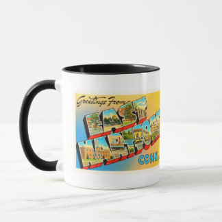 East Hartford Connecticut CT Old Travel Souvenir Mug
