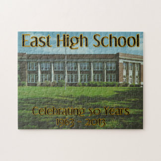 East High School - Celebrating 50 Years 1963-2013 Jigsaw Puzzle
