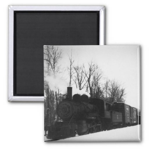 East Jordan & Southern Railroad Engine #6 Magnets