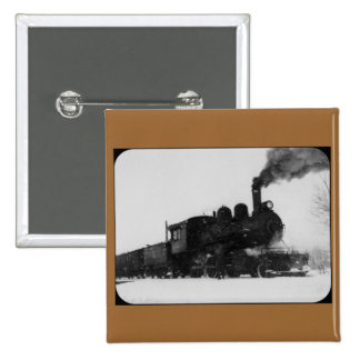 East Jordan Southern Railroad Engine No 6 Pinback Buttons