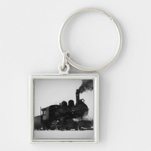 East Jordan & Southern Railroad Engine  No 6 Key Chains