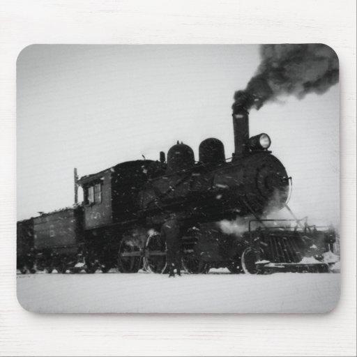 East Jordan & Southern Railroad Engine  No 6 Mousepad