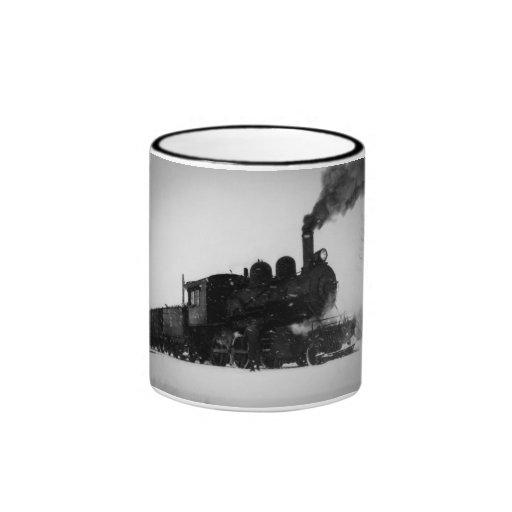 East Jordan & Southern Railroad Engine  No 6 Mugs